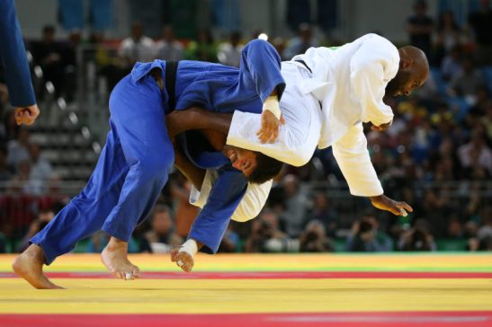 12 de Agosto de 2016 - Rio 2016 - Judô - Semifinal -Riner x Sasson .Foto: Roberto Castro/ Brasil2016