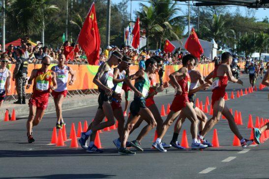 Rio de Janeiro- RJ- Brasil- 12/08/2016- Olimpíadas Rio 2016- Marcha Atlética Masculina. Foto: Francisco Medeiros/ ME