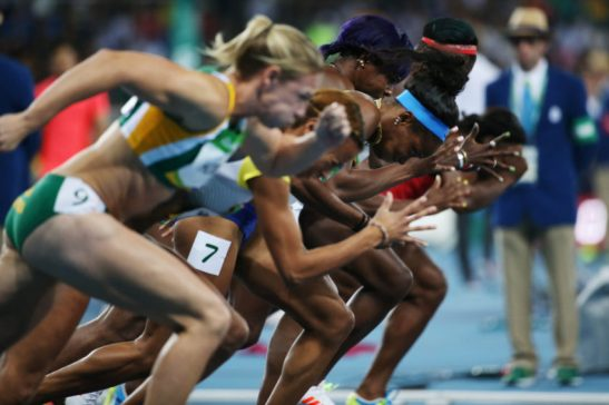 3 de Agosto de 2016 - Rio 2016 - Atletismo -Elaine Thompson vence a Prova dos 100m Feminino .Foto: Roberto Castro/ Brasil2016