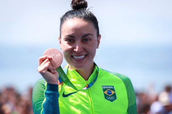 Rio de Janeiro- RJ- Brasil- Olimpíadas Rio 2016. Maratona Aquática- Feminino. Foto: Ministério do Esporte