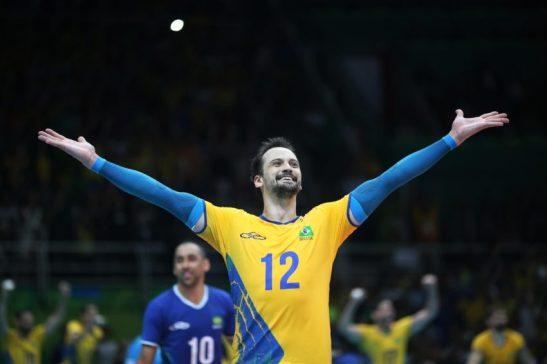 15 de Agosto de 2016 - Rio 2016 - Vôlei - Vôlei -jogo do Brasil (Amarelo) x França no Maracanãzinho. Foto: Roberto Castro/ Brasil2016