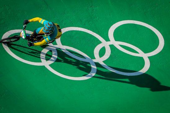 18/08/2016- Rio de Janeiro- RJ, Brasil- Rio 2016: competição de ciclismo BMX, no Complexo de Teodoro. Foto: Brasil 2016