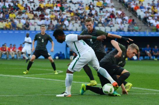 São Paulo - Alemanha vence a Nigéria por 2 a 0 e se classifica para a final na Arena Corinthians (Rovena Rosa/Agência Brasil)