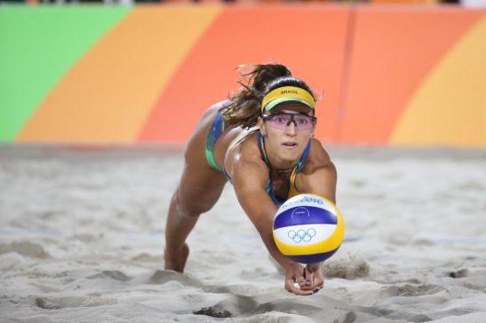 17 de Agosto de 2016 - Rio 2016 - Vôlei de Praia - Final - Ludwig/Walkenhorst vs Agatha/BarbaraFoto: Roberto Castro/ Brasil2016