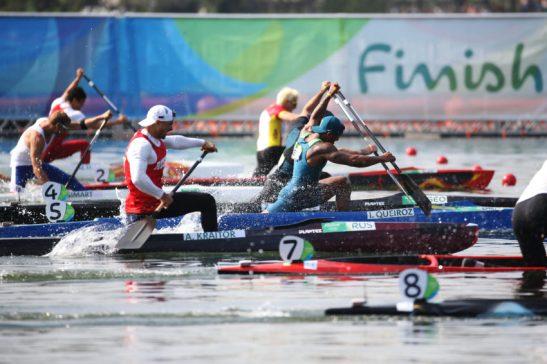 18 de Agosto de 2016 - Rio 2016 - Isaquias Queiroz durante disputa da canoagem C1 200m. Foto: Roberto Castro/ Brasil2016