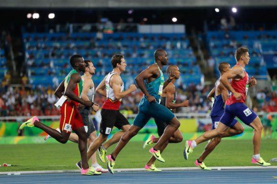 Rio de Janeiro - Brasileiro Luiz Alberto de Araújo corre 1500m no decatlo nos Jogos Rio 2016, no Estádio Olímpico, e termina competição em 10º. (Fernando Frazão/Agência Brasil)
