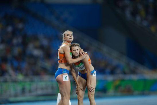 Rio de Janeiro - Eliminatórias do revezamento 4 x 400m nos Jogos Rio 2016, no Estádio Olímpico (Fernando Frazão/Agência Brasil)
