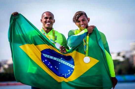 Olimpiadas Rio2016.20.08.16 Canoagem 1000m Isaquias e Erlon prata Foto Brasil 2016.Fotos Publicas (3)