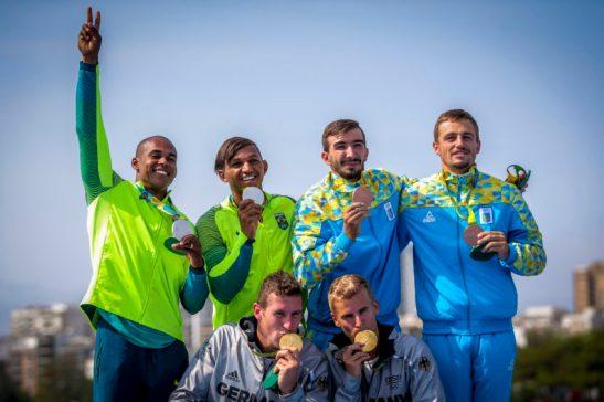 Olimpiadas Rio2016.20.08.16 Canoagem 1000m Isaquias e Erlon prata Foto Brasil 2016.Fotos Publicas