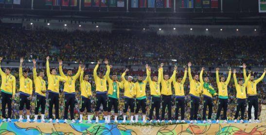 Rio de Janeiro- RJ- Brasil- 20/08/2016- Olimpíadas Rio 2016- Futebol Masculino- Final- Brasil e Alemanha, no estádio do Maracanã. Foto: Ricardo Stuckert/ CBF