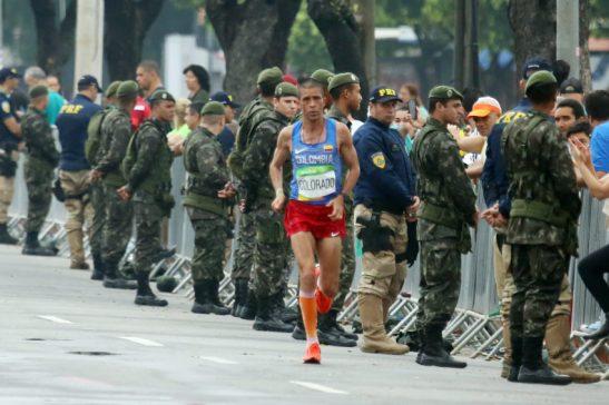 Rio de Janeiro- RJ- Brasil- 21/08/2016- Olimpíadas Rio 2016- Maratona Masculino. Foto: Francisco Medeiros/ ME