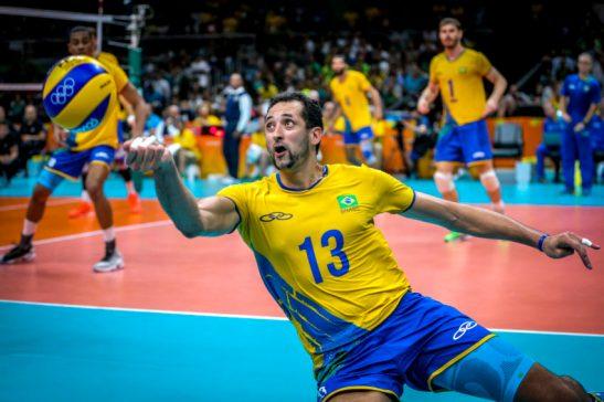 Rio de Janeiro- RJ- Brasil- 21/08/2016- Olimpíadas Rio 2016. Vôlei Masculino- Final- Brasil e Itália. Foto: Ministério do Esporte