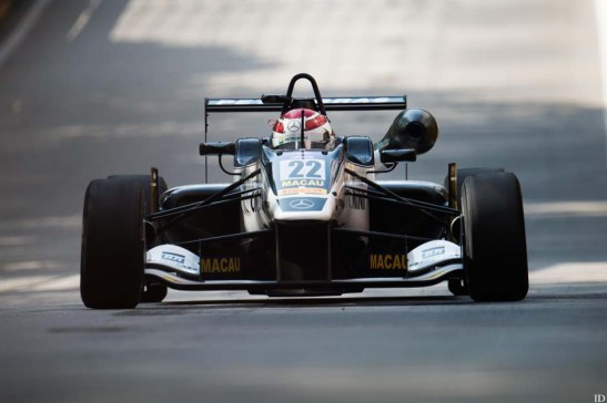 O brasileiro Pedro Piquet, filho do tricampeão de F1, Nelson Piquet. Foto: GCS