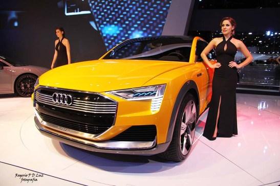 Audi h-tron quattro híbrido