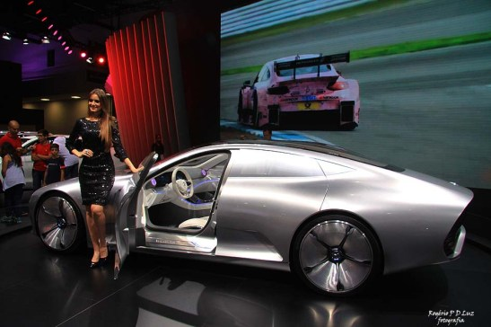 Mercedes Benz Concept IAA híbrido
