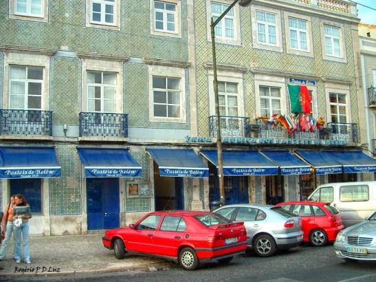 Pastel de Belém:São considerados os melhores bolos de Lisboa, lê-se na notícia.