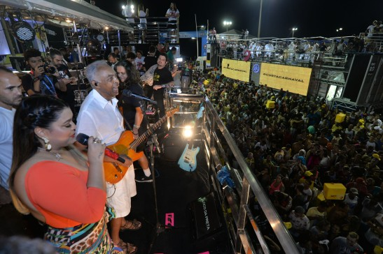 Preta Gil e Gilberto Gil na Barra Foto: Max Haack / SECOM / Fotos Públicas
