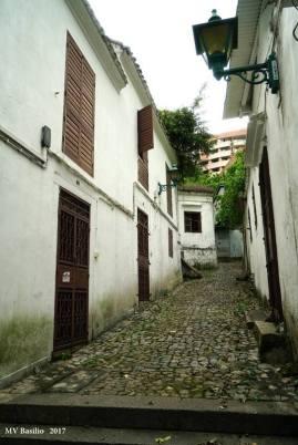 Outro aspecto da Calçada do Lilau. Foto M.V. Basílio