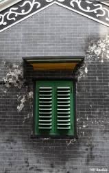 Uma janela típica do estilo de Leng Nam. Foto M.V. Basílio