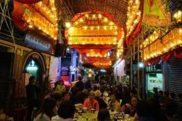 Outro aspecto do jantar. Foto M.V. Basílio