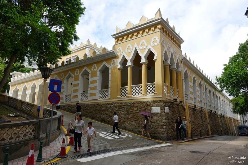 Macau: Quartel dos Mouros por dentro