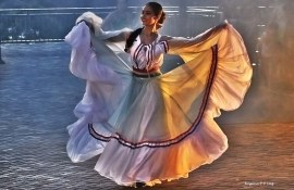Marco das 3 Fronteiras no Brasil danca Paraguai (11)