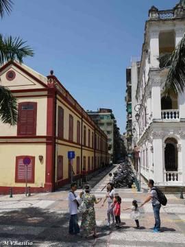 Outro aspecto da Rua Nova de S. Lázaro, visto do Adro da Igreja de S. Lázaro. Foto: M.V. Basílio