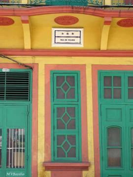Placa toponímica da Rua do Volong. Foto: M.V. Basílio